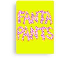 Fanta Pants Canvas Print