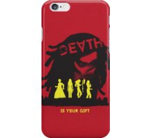 Death Is Your Gift iPhone Case/Skin