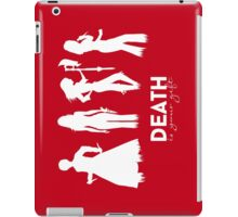 Death Is Your Gift V.2 iPad Case/Skin
