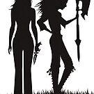 Faith & Buffy by mcgani
