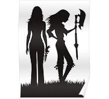 Faith & Buffy Poster