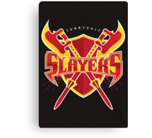 Sunnydale Slayers Canvas Print