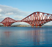forth bridge piers by photoeverywhere