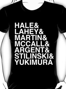 McCall Pack (Season 3B) - white text (v1) T-Shirt