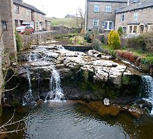 Falls on the River Ure, Hawes, Yorkshire Dales by photoeverywhere