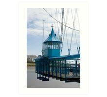 Gondola of the Newport Transporter Bridge Art Print