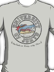 University of Johto - Black Outlines! T-Shirt