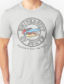 University of Johto - Black Outlines! Unisex T-Shirt