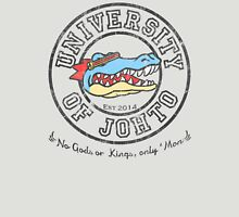 University of Johto - Black Outlines! Unisex T-Shirt