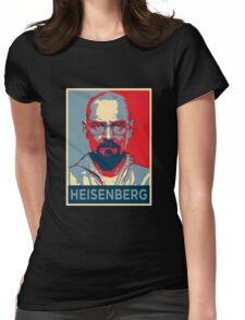 Walter White a.k.a. Heisenberg Womens Fitted T-Shirt
