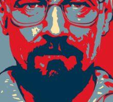 Walter White a.k.a. Heisenberg Sticker