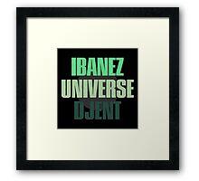 Ibanez Universe Djent Framed Print