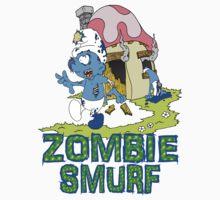 Zombie Smurfs Kids Clothes