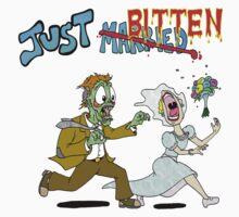 Zombie Wedding Kids Tee
