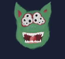 Green Monster Shirt / Sticker by ManiM