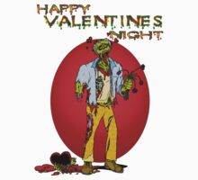 Happy Zombie Valentines day Kids Clothes