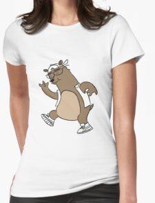 Bear Womens Fitted T-Shirt
