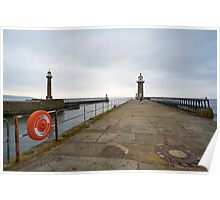 View at pier Poster
