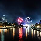 Moomba Fireworks by Alex Wise