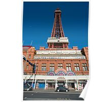 Blackpool waterfront Poster