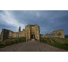 Warkworth Castle Photographic Print