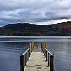 Lonely Jetty on Derwent Water by pixog