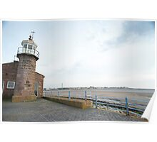 Morecambe lighthouse Poster
