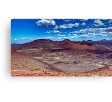 Martian Ground or Lanzarote? Canvas Print