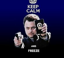 Keep calm and freeze! by Carlos Megino