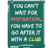 Go After Inspiration With A Club iPad Case/Skin