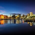 Canning Dock At Sundown by Paul Madden