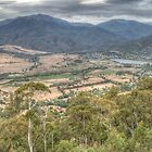 Keiwa Valley (Victoria) Panorama by Adrian Paul