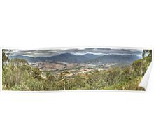 Keiwa Valley (Victoria) Panorama Poster