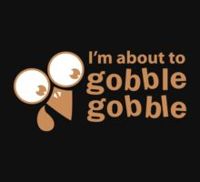 I'm about to GOBBLE GOBBLE with cute turkey face by jazzydevil
