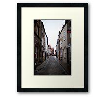 Church Street in Whitby Framed Print