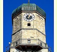 Stadtpfarrkirche Weilheim ~ Clocktower by ©The Creative  Minds
