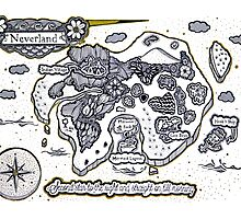 Neverland Illustration by Mark Karwowski
