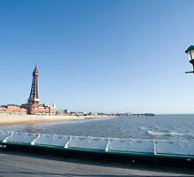 Blackpool from north pier by photoeverywhere