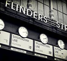 Station Clocks by Karen E Camilleri