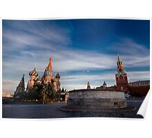 Red Square: #MOSCOW Poster