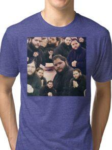 Buttcrack man Tri-blend T-Shirt