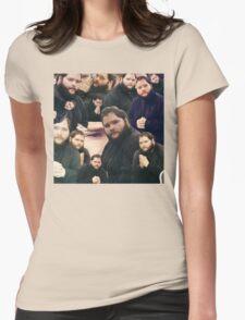 Buttcrack man Womens Fitted T-Shirt