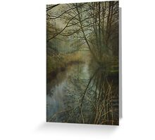 The Lonely River Greeting Card