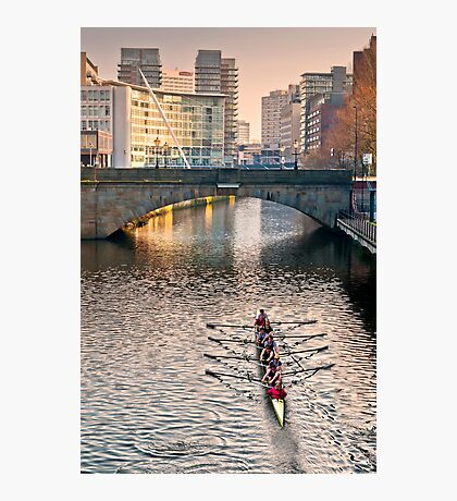 Rowing on the Irwell Photographic Print