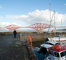Queensferry harbour, Scotland by photoeverywhere