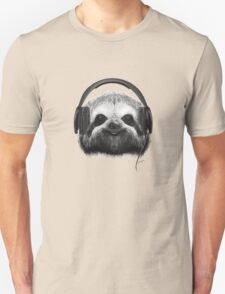 Sloth DJ Unisex T-Shirt