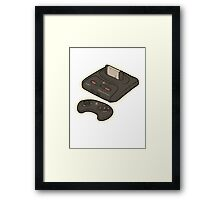 Mega Drive Framed Print