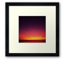 Beautiful Start To The Day Framed Print