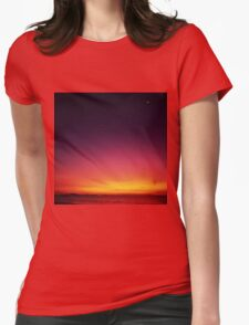 Beautiful Start To The Day Womens Fitted T-Shirt