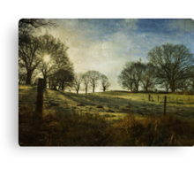 The Dawning of the Day Canvas Print